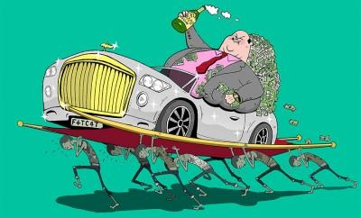 E vërteta e trishtë mbi Botën e sotme ilustruar nga Steve Cutts