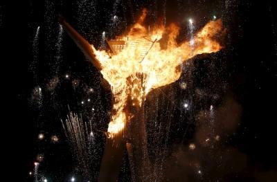 Burning Man, një festival zjarri dhe arti