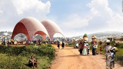 """Arkitektët e mëdhenj dizenjojnë të parin """"Aeroport Për  Drone"""" në botë"""