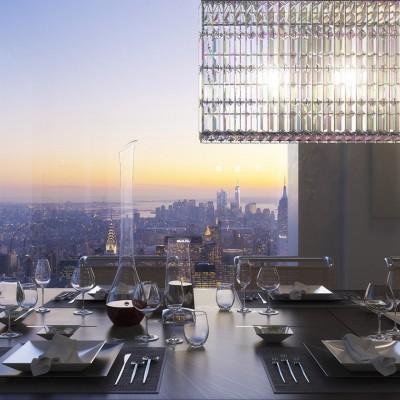 Si është të jetosh në një Penthouse 95 Miljon Dollarëshe, rreth 426 km mbi New York ?