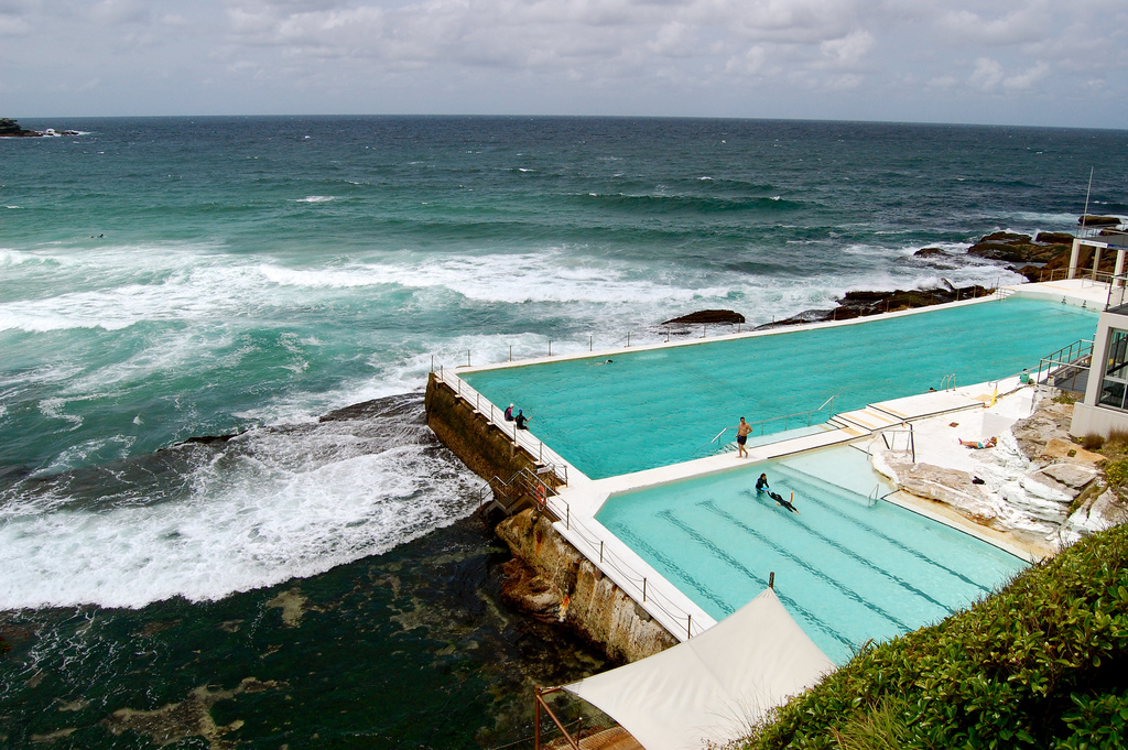 7-Swimming-laps-beecomes-special-at-the-Bondi-Icebergs-pool-in-Sydney-Australia.-Photo-by-Michelle-Flickr