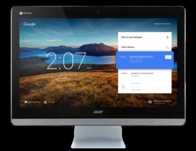 Acer prezantoi desktopin Chromebase, dizenjuar për video konferencat