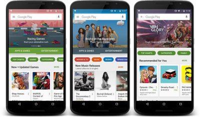 Google Play Store së shpejti me një dizajn të ri