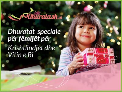 7 ide dhuratash speciale për fëmijët për Krishtlindjet dhe Vitin e Ri
