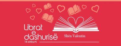Librat e dashurisë, dhurata e veçantë e Shën Valentinit
