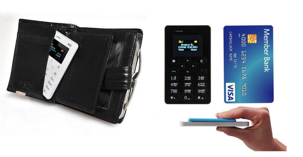 Një telefon sa një kartë krediti. Ja si funksionon.
