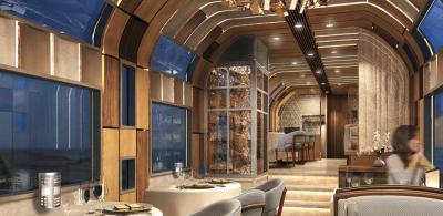 Treni super luksoz në Japoni. Një biletë kushton 10,000$