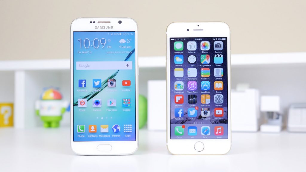 Samsung Galaxy S6 apo iPhone 6