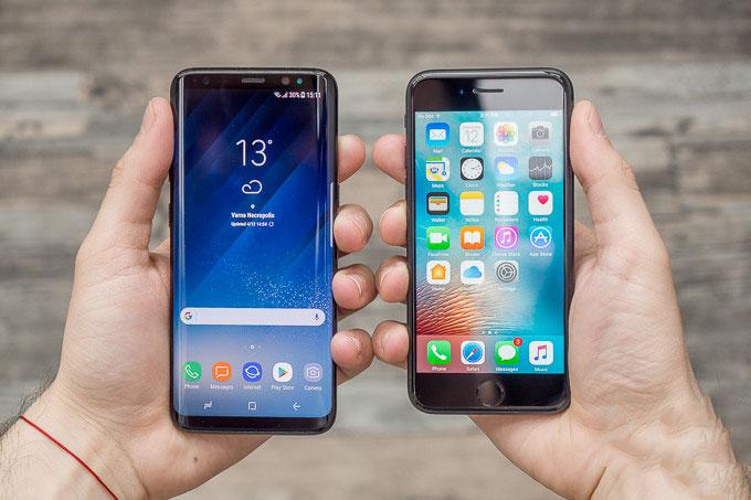 Kush është më i mirë Iphone 8 apo Samsung S8