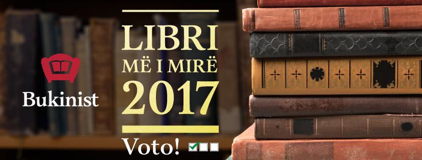 Voto edhe ti për librin më të mirë të vitit 2017. Konkursi që i bën të gjithë lexuesit juri