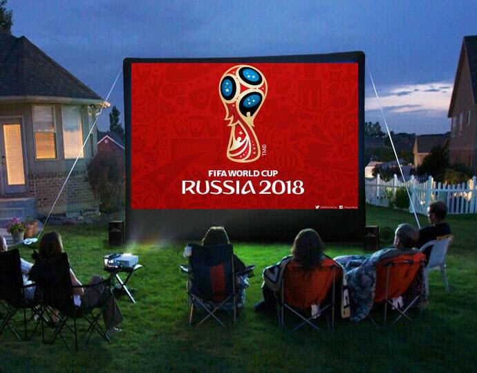 Si ta ktheni shtëpinë si një stadium për të parë ndeshjet e Botërorit 2018