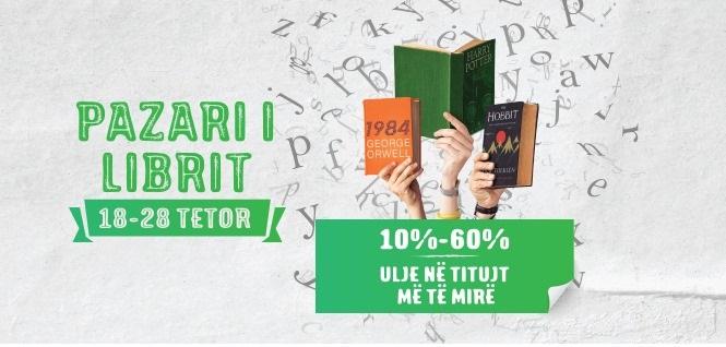 Pazari i librit në TEG, oferta deri në -60%