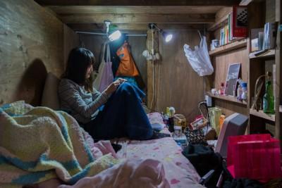 Të jetosh në një shtëpi-kuti në Japoni