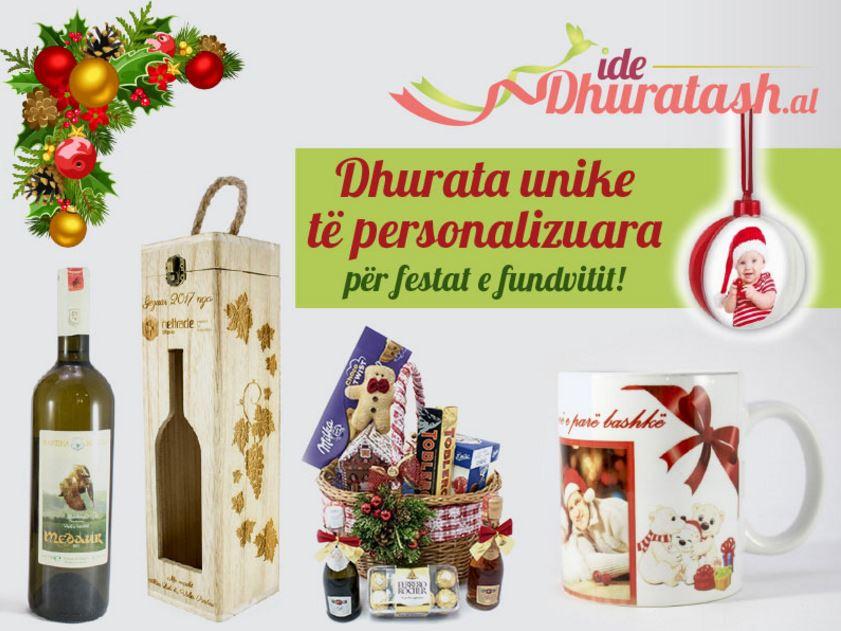 Dhuratat e personalizuara, zgjedhja e duhur për festat e Dhjetorit