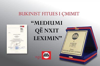 Bukinist-it i jepet çmimi i parë si platforma që nxit leximin në Shqipëri