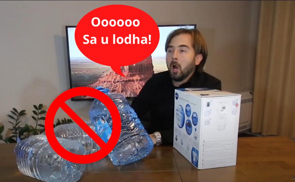 FITO 100€ duke pirë ujë…